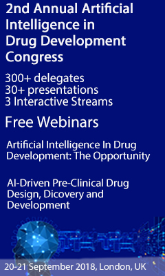 Banner for 2nd Annual Artificial Intelligence in Drug Development Congress