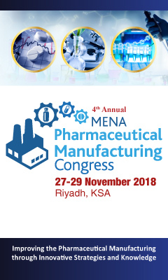Banner for MENA Pharma Manufacturing Congress and Exhibition