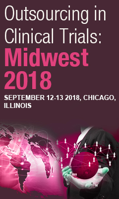 Banner for Outsourcing in Clinical Trials Midwest 2018