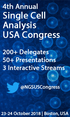 Banner for 4th Annual Single Cell Analysis USA Congress Organizer